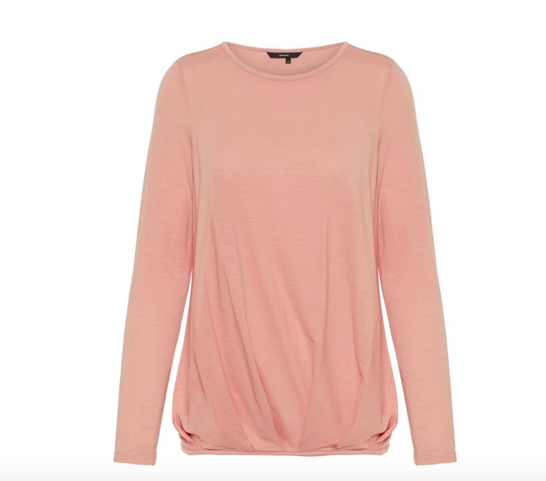 012302ee Vero Moda - Ava pleat top / Rosa   Hans og Hennes (hogh.no) klær og  tilbehør til dame og herre
