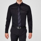 Selected Homme - Pelle Shirt Slim / Svart thumbnail