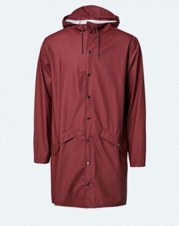 Rains - Jacket long / Maroon