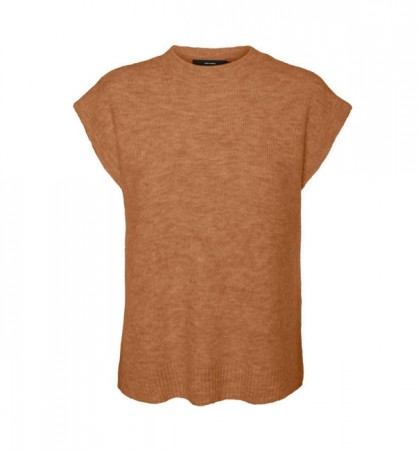Vero Moda - Lefile O-neck west / Brown