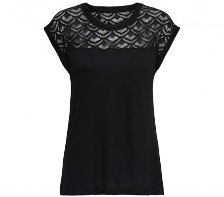 Only - Nicole Top / sort