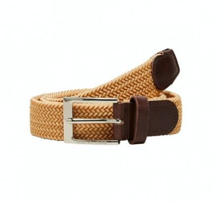 Selected Homme - Alex webbing belt / Sand