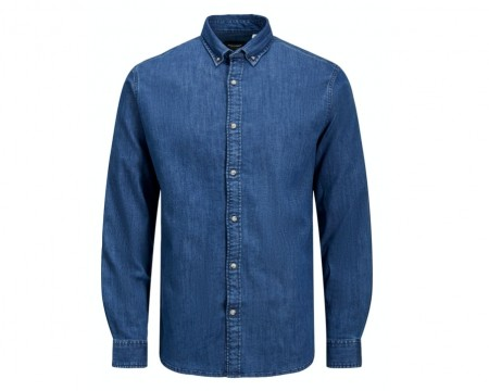 Jack & Jones - Leon stretch denim shirt