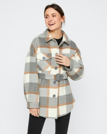 Pieces - Selma overshirt jacket