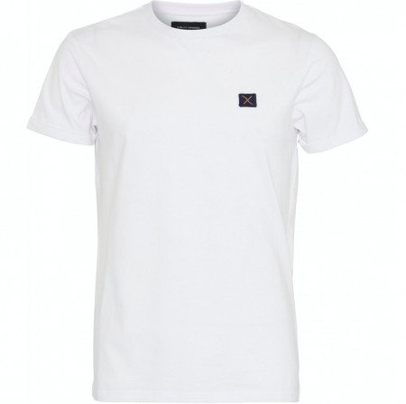 Clean cut Copenhagen - Basic organic tee / White