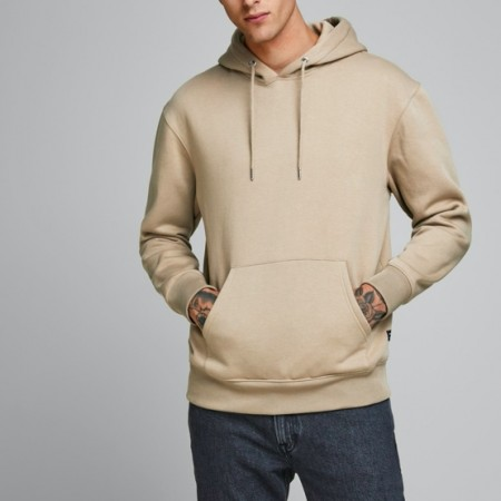 Jack & Jones - Jjesoft Sweat Hood / Crockery