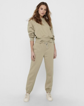 Only - Onlgia Long Pant Swt / Beige