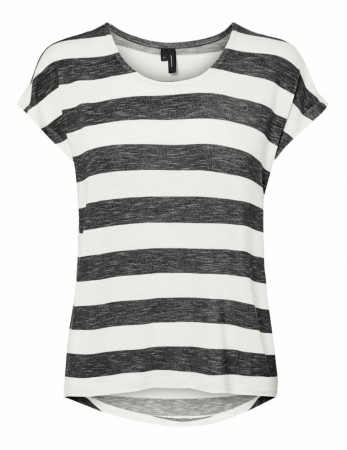 Vero Moda - Wide stripe / Black