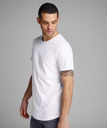 Jack & Jones - Hugo tee / hvit