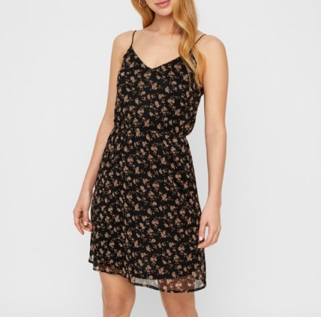 Vero Moda - Wonda singlet dress / Black minna