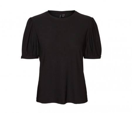 Vero Moda - vmmilla ss top / black