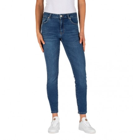Why7 - Katie power skinny / mid blue