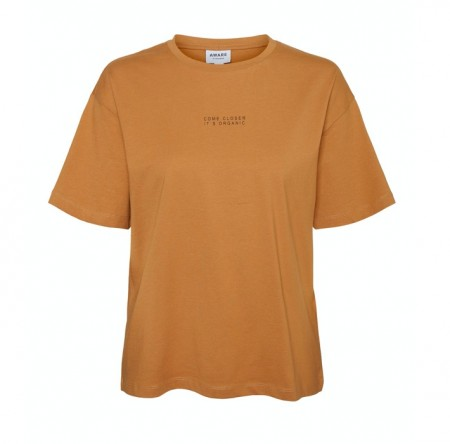Vero Moda - magic tee / tobacco brown
