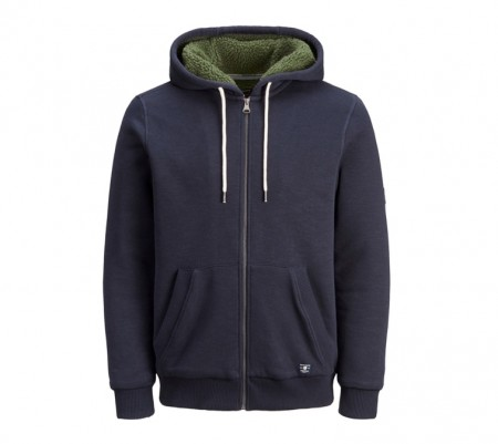 Jack & Jones - jason sweat hood / Blå