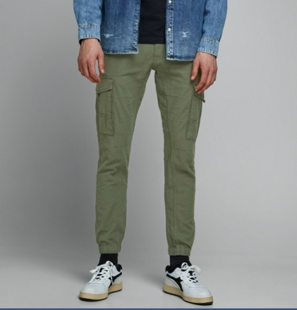Jack & Jones - Paul flake linen / Green