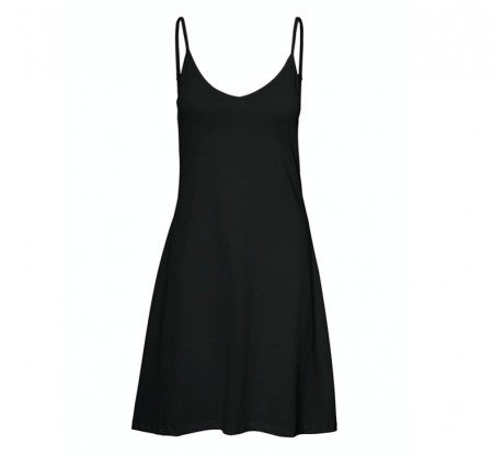 Vero Moda - Diddedrianne short dress / Black