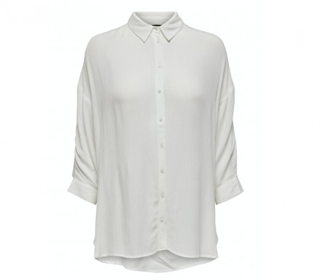 Only - Alexandra life shirt / Off white