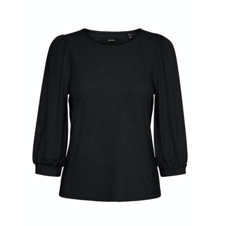 Vero Moda - Vmfranca 3/4 Top / Black