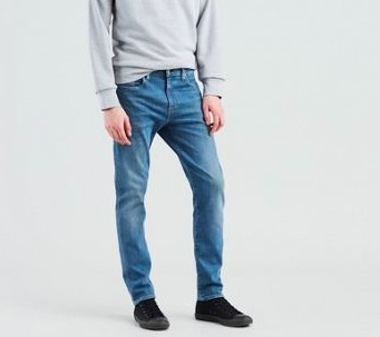 Levis - 512 Slim Taper fit 4 leaf clover