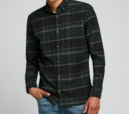 Jack & Jones - Elastic check shirt