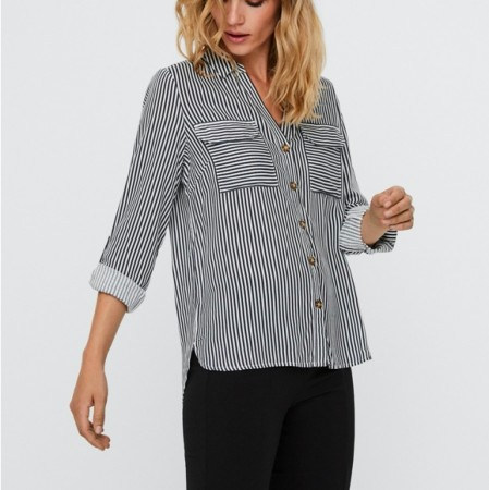Vero Moda - Vmbumpy ls shirt color