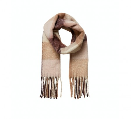 Vero Moda - Saura long scarf / Chocolate plum