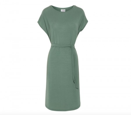 Vero Moda - Ava plain dress / Grønn