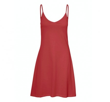 Vero Moda - Diddedrianne short dress / Marsala