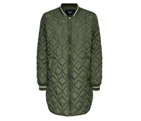 Only - Allison quilted long bomber
