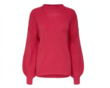Only - New siff bell pullover / Claret red