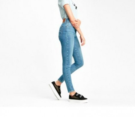 Levis Dame - Mile high super skinny / Better safe