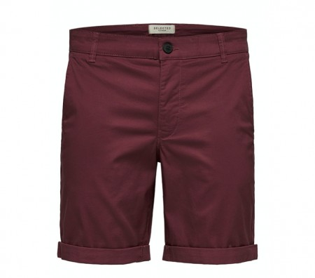 Selected Homme - Straight paris shorts / Wild ginger