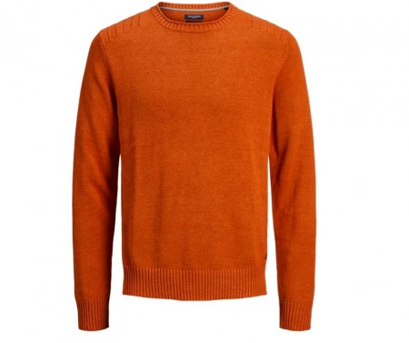 Jack & Jones - Wales knit crew / burned