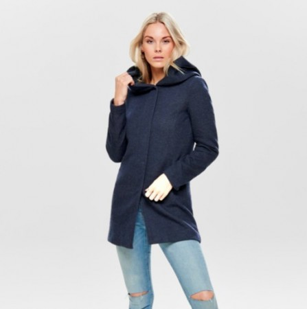 Only - Sedona spring coat / Blå
