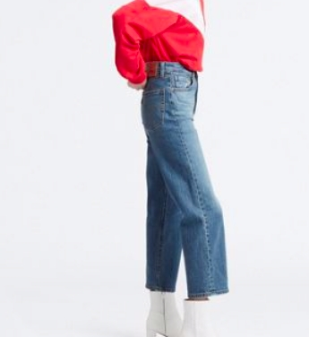 Levis Dame - Ribcage straight ancle