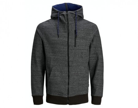 Jack & Jones - Best sweat hoody / sort