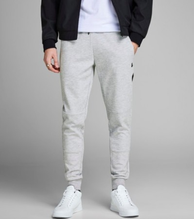 Jack & Jones - Will clean sweat pants / lys grå