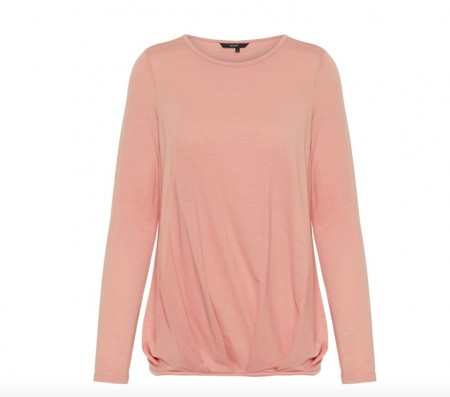 Vero Moda -  Ava pleat top / Rosa