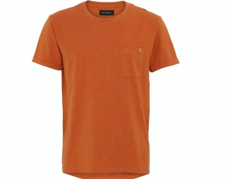 Clean Cut Copenhagen - Kolding Organic Tee / Dusty orange