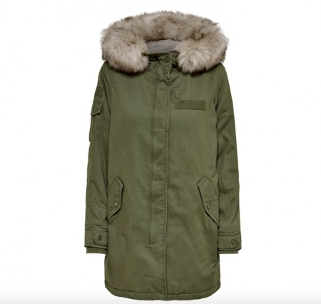 Only - May canvas parka