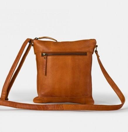 ReDesigned by Dixie - Josefin bag small / Burned tan