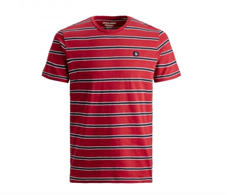 Jack & Jones - Stanford tee / rød