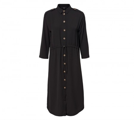 Vero Moda - Catrin shirt dress / sort