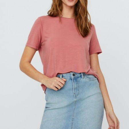 Vero Moda - Vmava ss top / Old rose