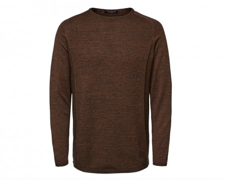Selected Homme - Bakes knit / Rust