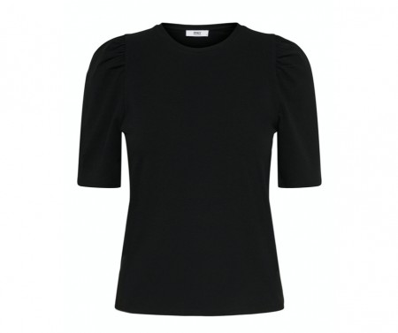 Only - Live love puff 2/4 top / Black