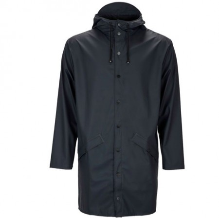 Rains long jacket / blue