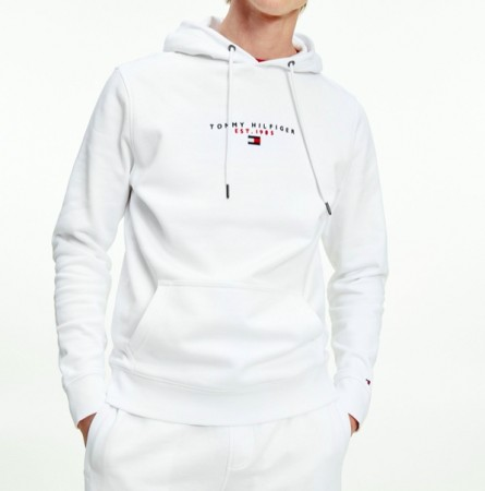 Tommy Hilfiger - Essential Tommy Hood / White