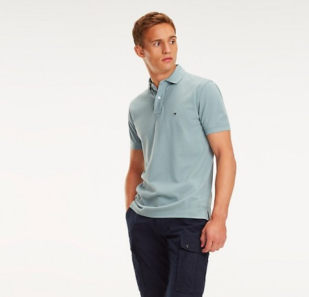 Tommy Hilfiger - Regular Polo 041/ Grønn
