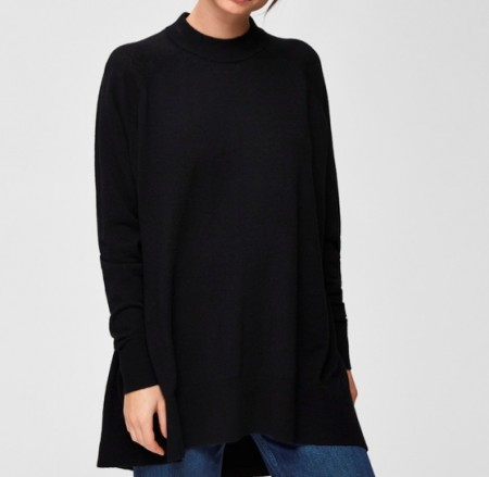Selected Femme - Cosmo ls knit highneck